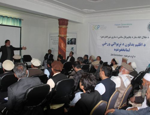Celebration of the International Day of Climate Action in East Afghanistan: Established Linkages Between NEPA and Environmental Committee