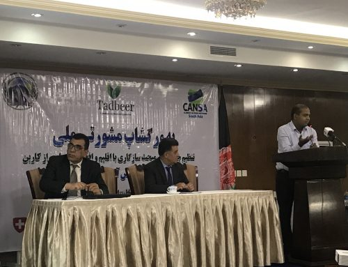 Mobilising Stakeholders and Framing Climate Agenda Towards Climate Resilient and Carbon Neutral Afghanistan