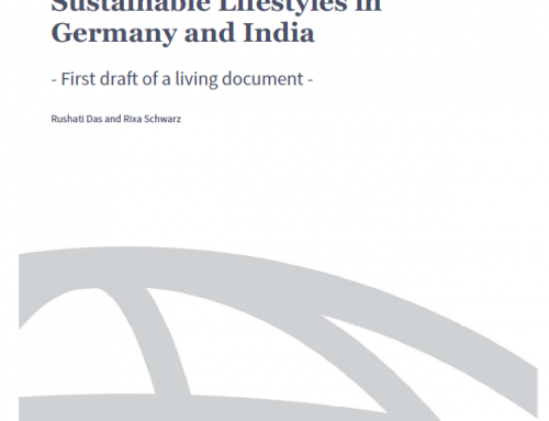 Sustainable Lifestyles in Germany and India