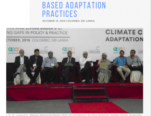 Eco-Village Development in South Asia as Community Based Adaptation Practices