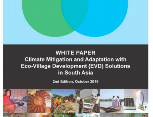 White Paper: Climate Mitigation and Adaptation with Eco-Village Development Solutions in South Asia