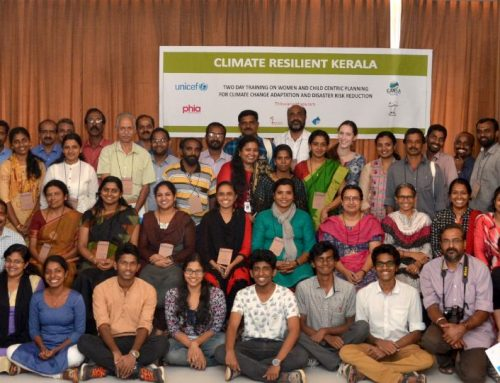 Women and Child Centric Adaptation Planning Training in Kerala
