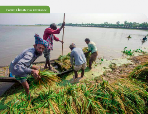 Transferring Climate Induced Disaster Risks: policy, practices and readiness of Bangladesh